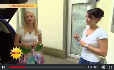 GeburtstagsGlueck SAT1 Fruehstuecksfernsehen